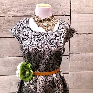 Small Mini Black & Silver Dress/ The Style London